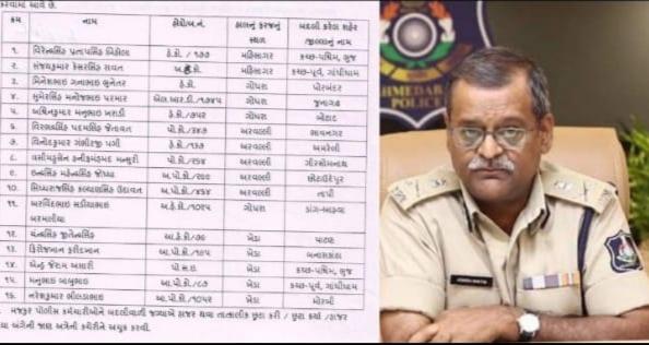 DGP આશિષ ભાટિયા થયા આકરાઃ આ 5 પોલીસકર્મી ઓને બુટલેગરો સાથેની ભાઈ બંધી પડી મોંઘી, કુલ 16ની બદલી ?